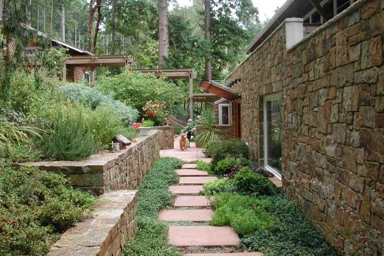 casa rural camino piedras cuadradas