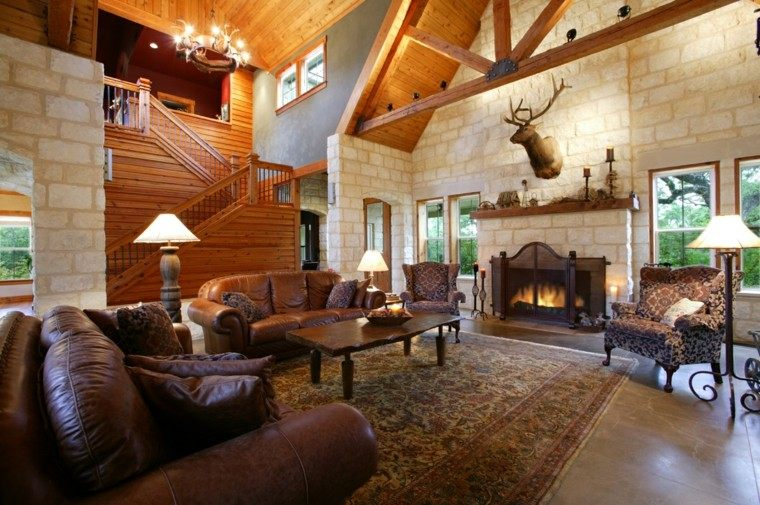 Casas de campo 50 variantes para decorarlas con estilo for Country style home furnishings