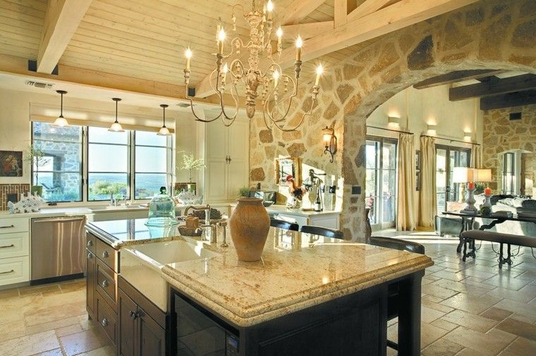Casas de campo m s de 50 variantes para decorarlas con for Bathroom interior design austin tx