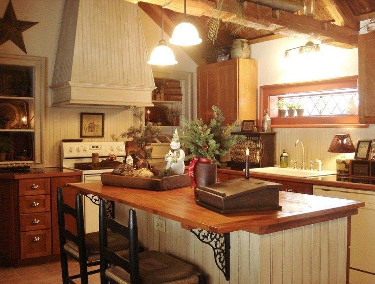 Casas de campo m s de 50 variantes para decorarlas con for Casas decoradas por dentro
