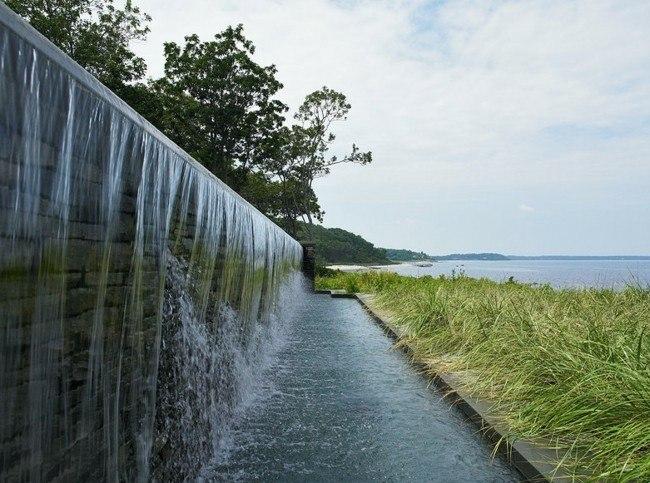 cascadas cataratas agua muro piedra