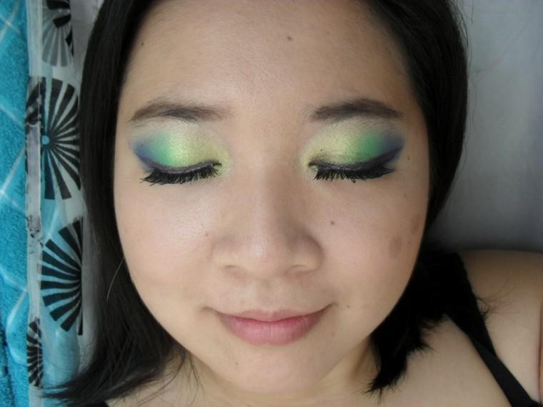 china ojos verano cara colorido