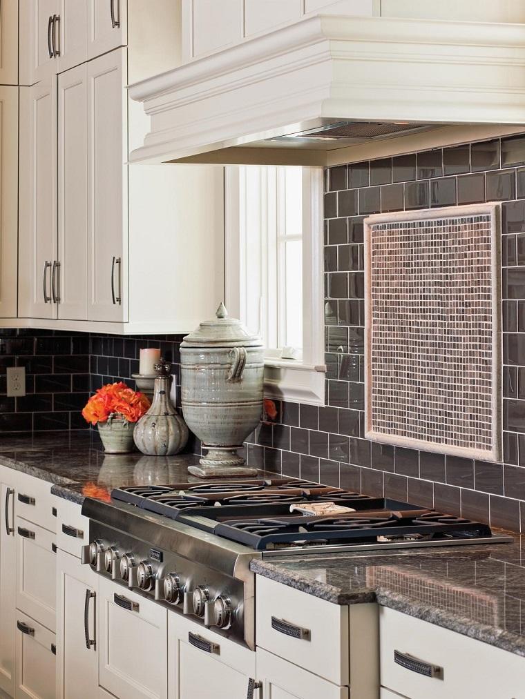 Encimeras de cocina granito m rmol madera para elegir - Granito para encimeras de cocina ...