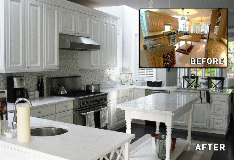 Muebles de cocina baratos gabinetes y despensas for Cocinas antes y despues