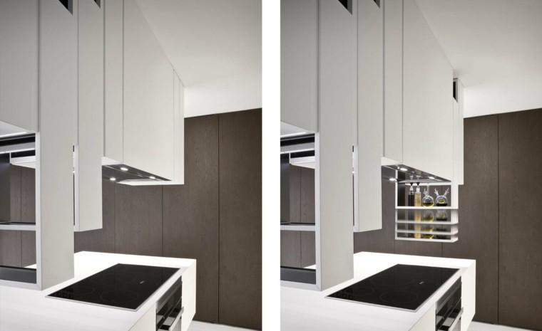 cocina cortada diseño alessandro moderna