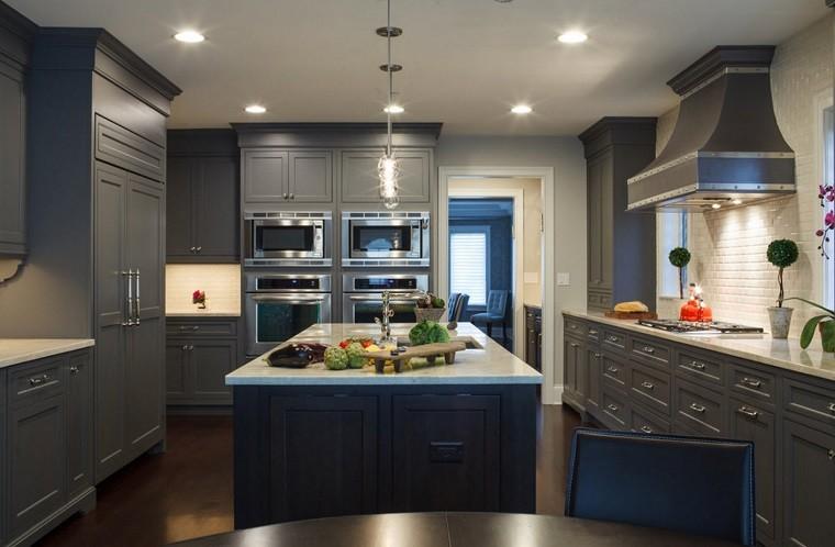 cocina estilo moderno color gris estilo original