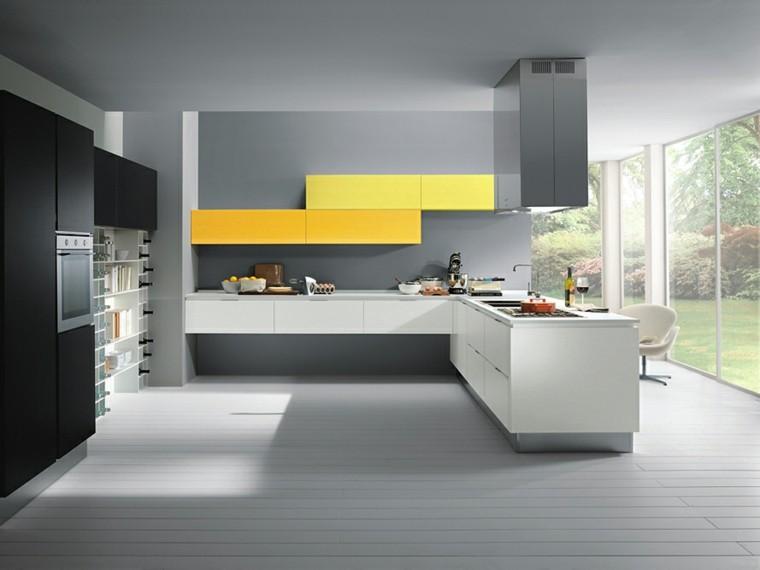Dise o de cocinas modernas 100 ejemplos geniales for Cocinas italianas modernas
