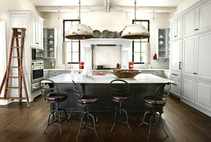 cocina industruial diseño electrodomesticos muebles