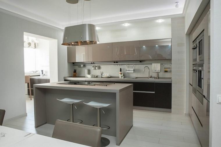 Mobiliario de cocinas modernas muebles de cocina moderna for Islas para cocinas modernas