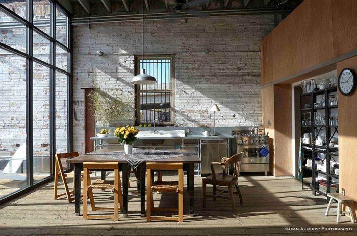 cocina mesa comedor sillas madera