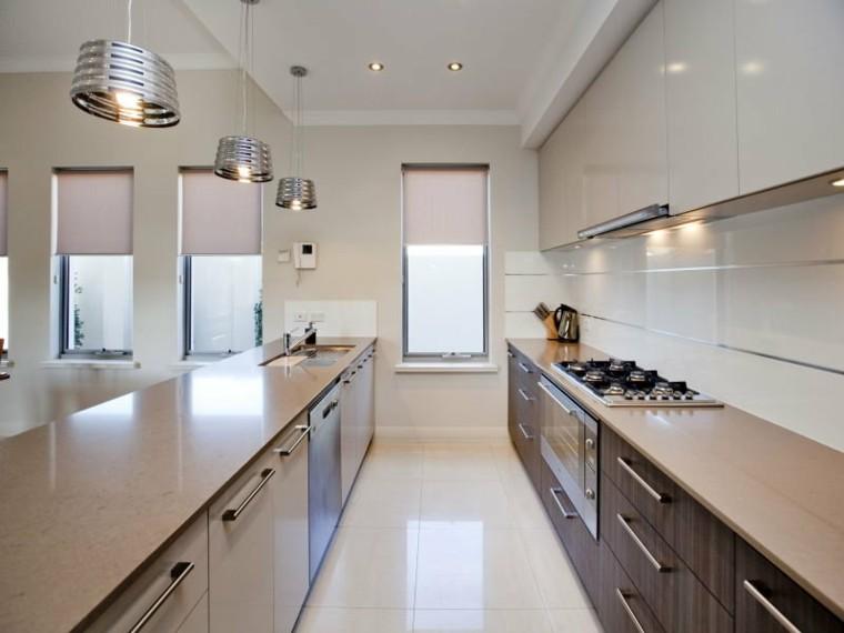 cocina moderna acabado lacado brillante