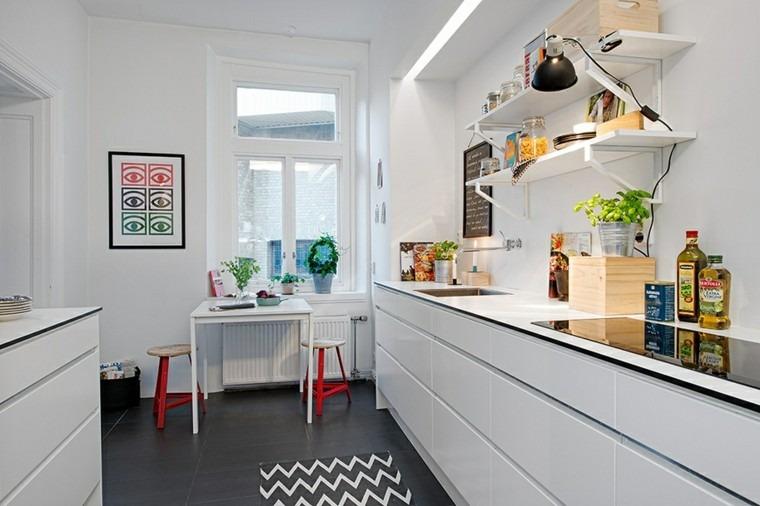 cocina moderna estilo nordico escandinavo