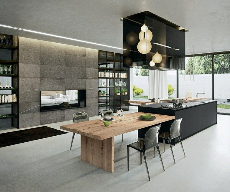 18 Elegant Living Room Kitchen Open Concept Fresh Home: Diseño De Cocinas Modernas