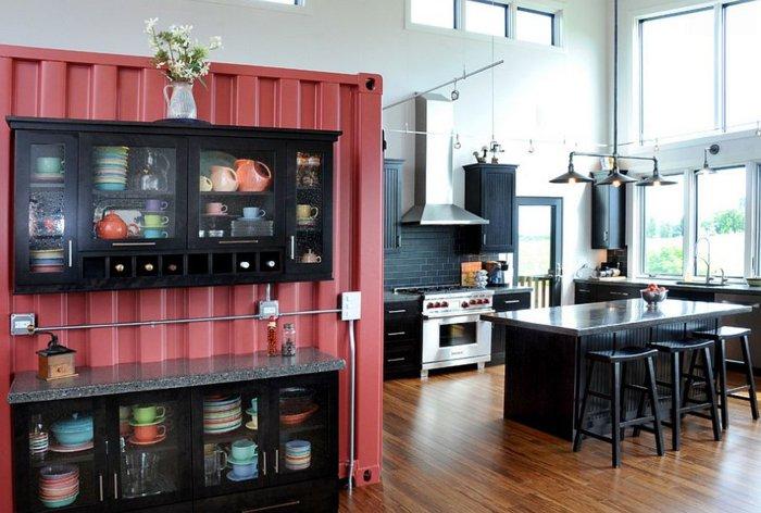 cocina moderna muebles diseño industrial