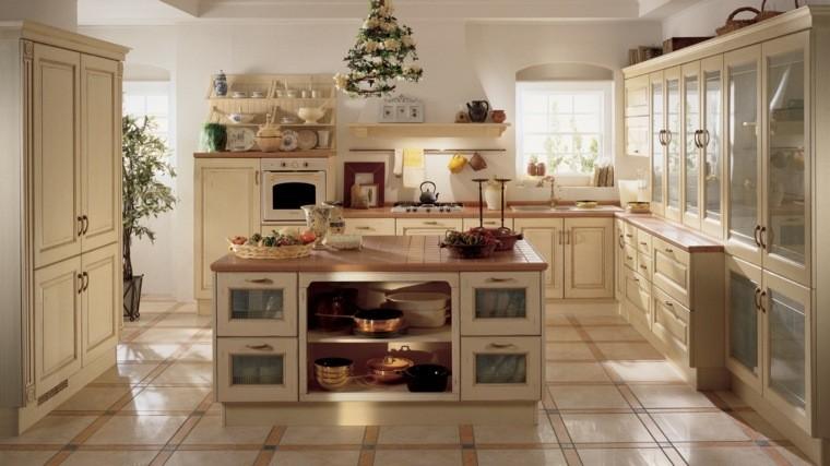 Cocinas estilo campestre - 50 ideas motivantes a considerar.