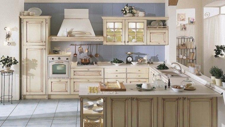 Cocinas estilo campestre - más de 50 ideas motivantes a considerar