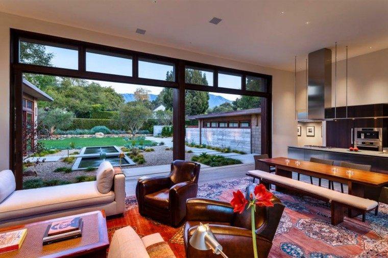 cocinas modernas salon ventanales exterior ideas