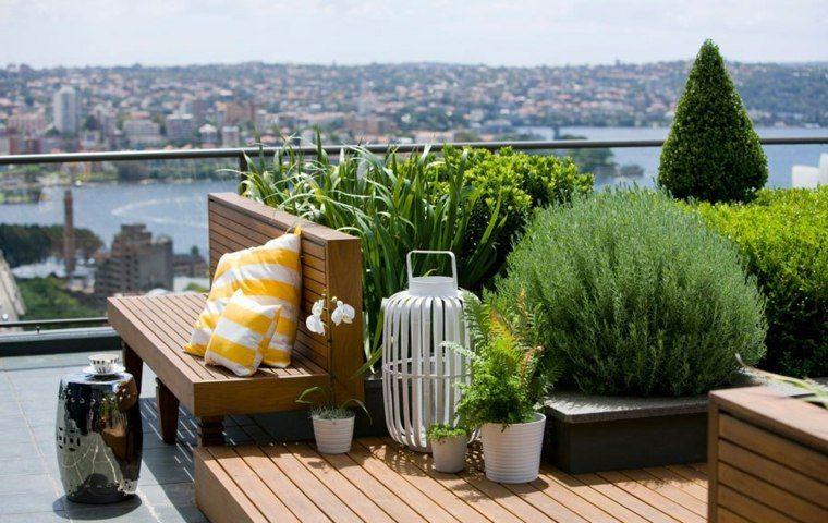 cojin jardin azotea ciudad exteriores