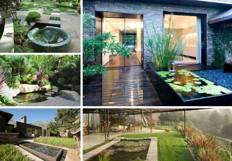Diseño con sendero de hormigón por Accent Garden Designs
