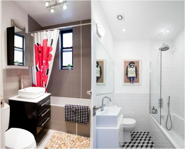 Baños pequeños   veinticinco diseño a la última