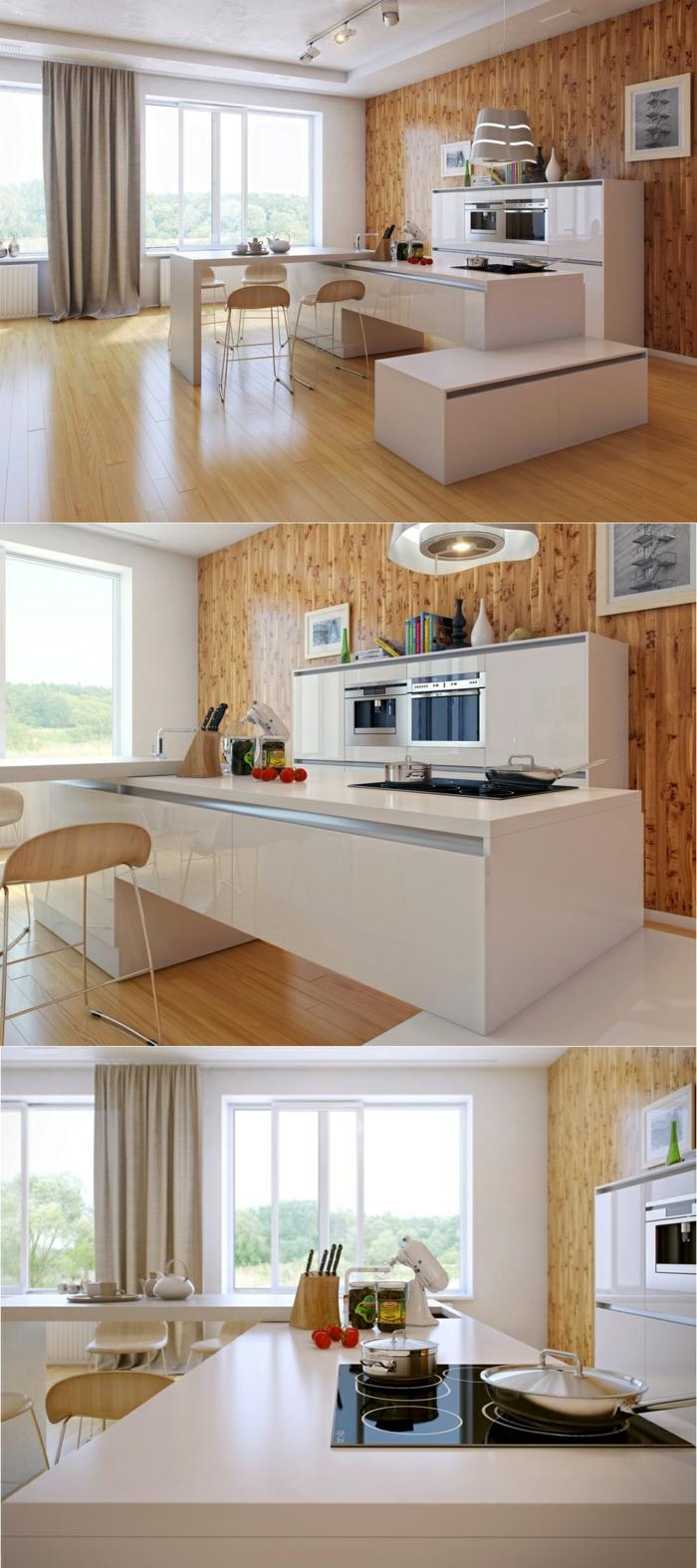 collage tres fotop encimeras cocina