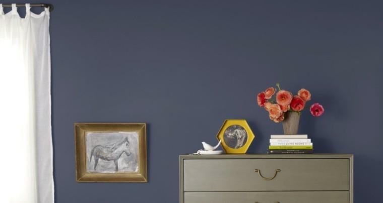 Pinturas para sal n ideas de combinaciones modernas for Colores de pintura azul