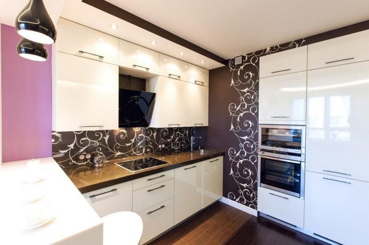Juegos de cocina muebles muy modernos e interesantes for Cocinas modernas color blanco