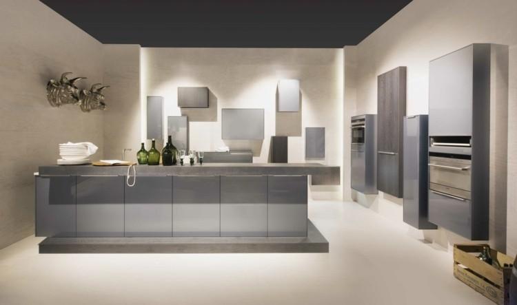 Gabinetes De Cocina Color Gris – Gormondo.com