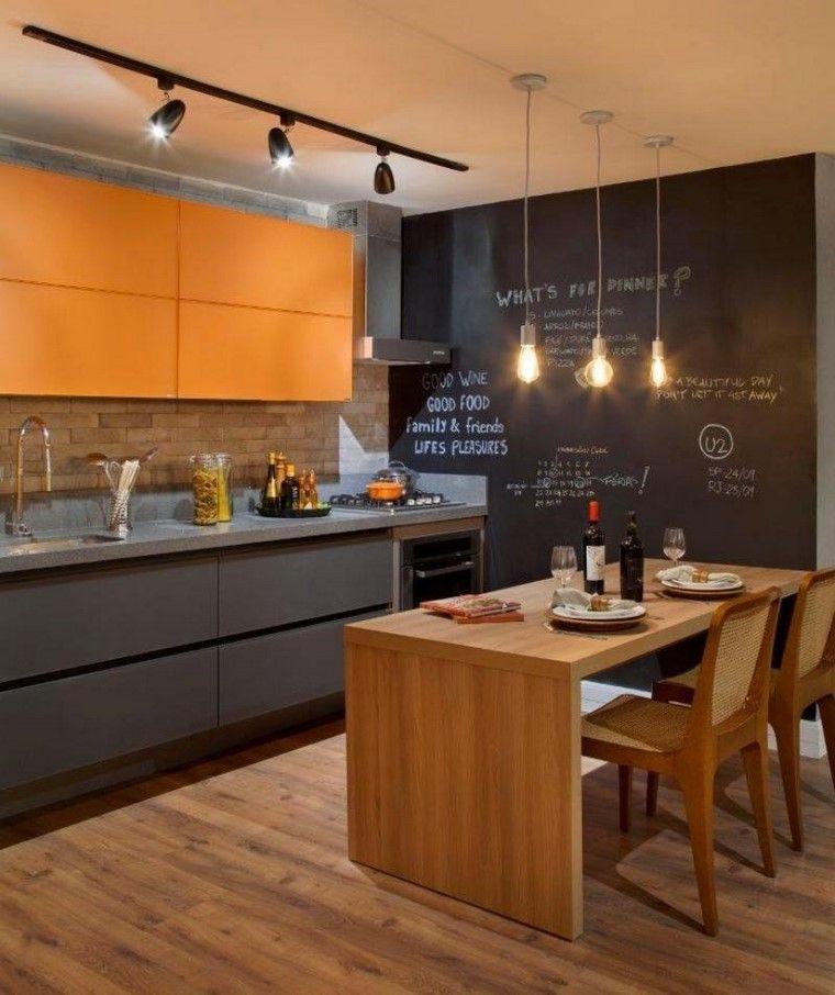 Muebles cocina naranja 20170830164206 for Muebles de cocina gris