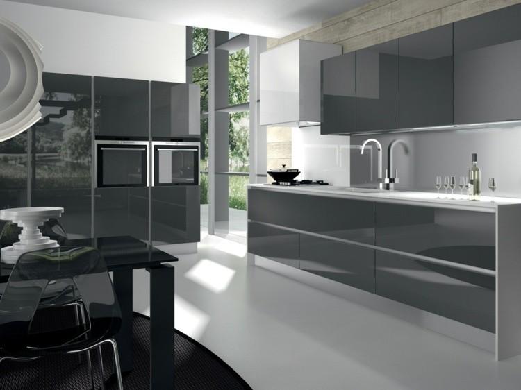 Cocinas Gris | Color Gris Para Ideas En La Decoracion De Cocinas Modernas