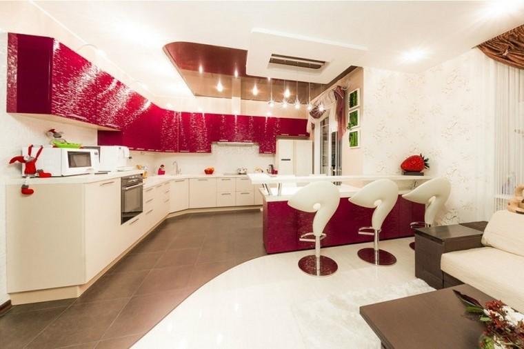 Juegos de cocina muebles muy modernos e interesantes for Colores de muebles modernos