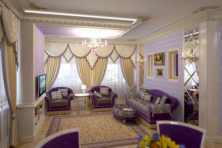 color purpura salon estilo victoriano ideas