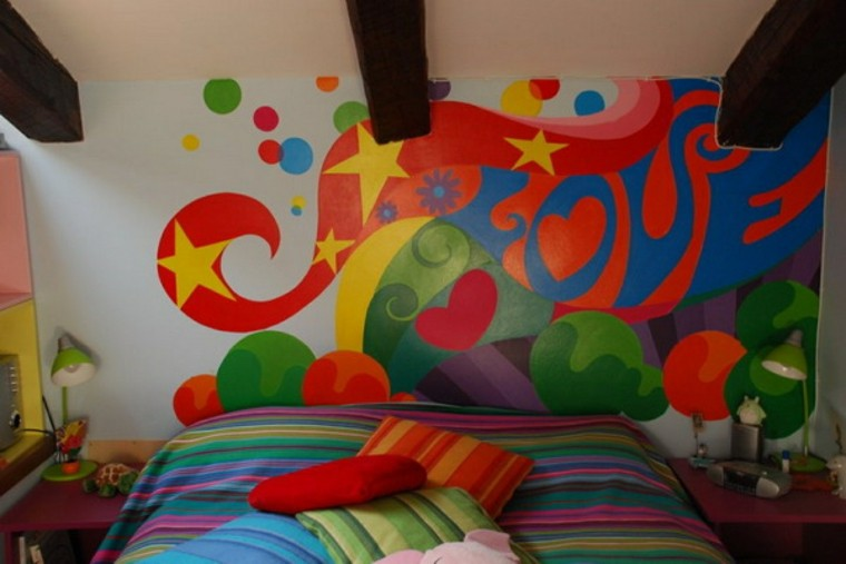 colores vibrantes dormitorio adolescente ideas interesantes