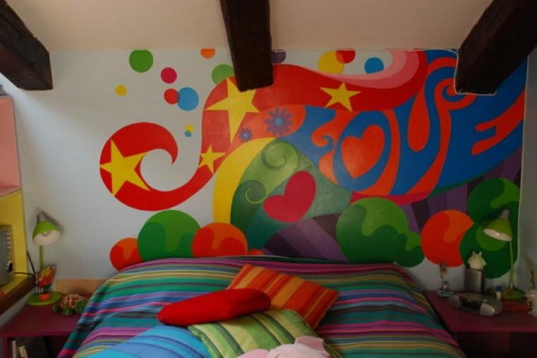 colores vibrantes dormitorio adolescente ideas interesantes