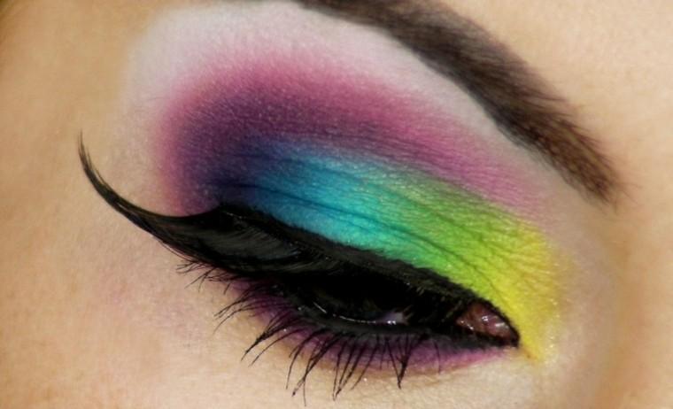 colorido veraniego aire estilo arcoiris