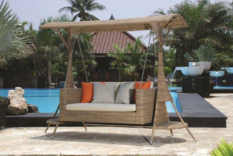 columpio modelo vega jardin piscina