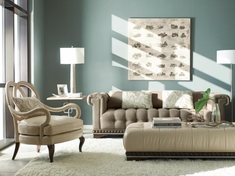 Pinturas para sal n ideas de combinaciones modernas - Colores relajantes para salones ...