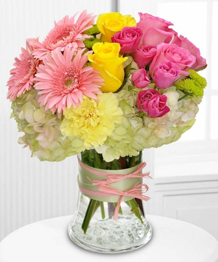 combinacion distintas flores ramo precioso ideas