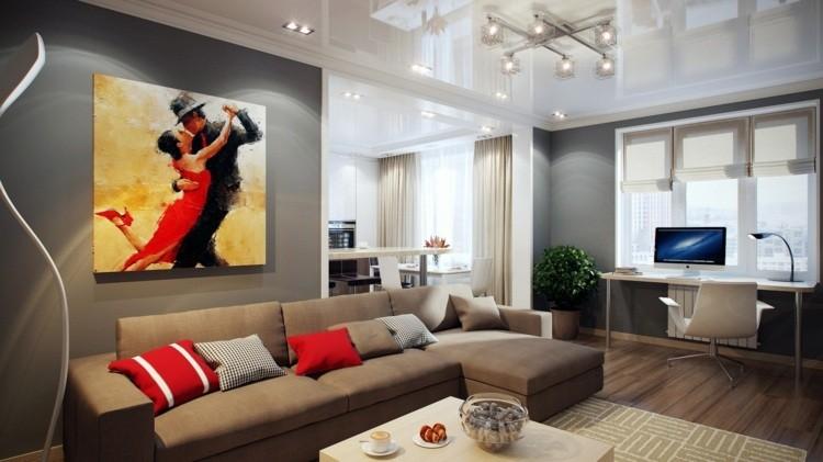 Combinar colores en el sal n redescubre tu espacio - Combinar colores paredes simulador ...