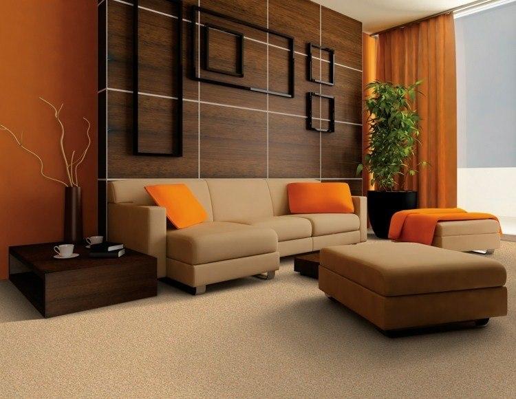 Combinar colores en el sal n redescubre tu espacio - Colores y ambientes ...