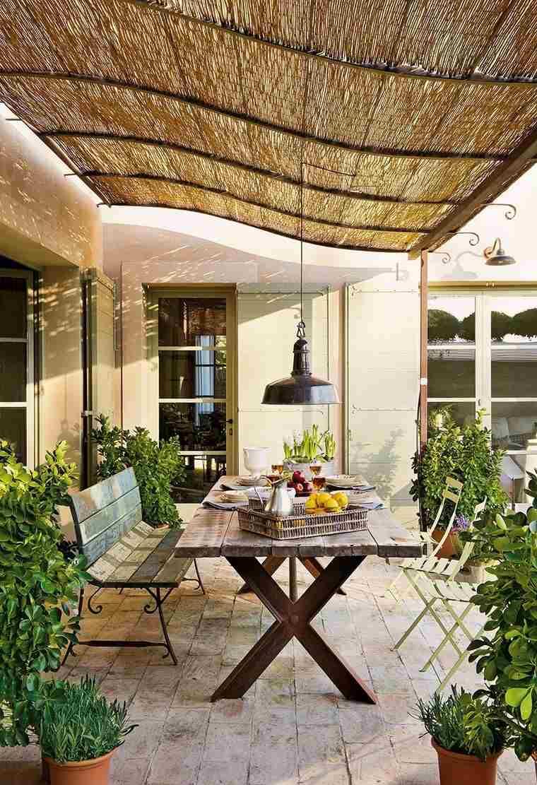 P rgolas jardines terrazas con estilo muy modernas for Techos de terrazas modernas