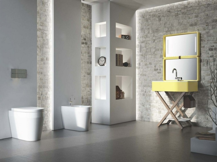 cómo decorar un bano lavabo diseno ideas