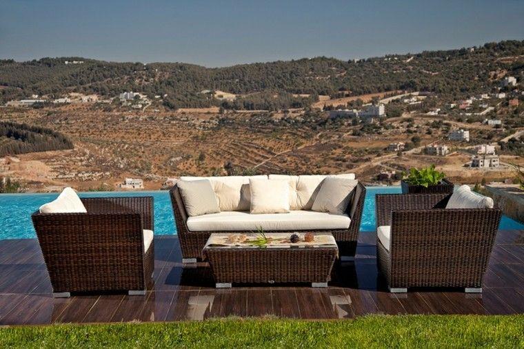 conjunto modelo indigo terraza piscina
