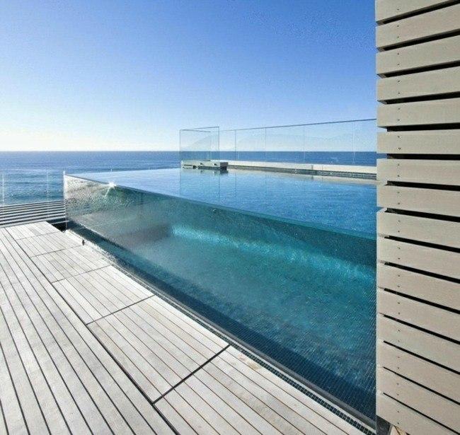 Construccion de piscinas en el jard n 103 ideas for Construccion de piscinas