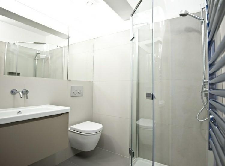 cuarto baño mampara vidrio cristal