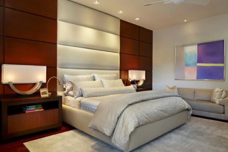 cuero lamparas moderna habitacion sofa