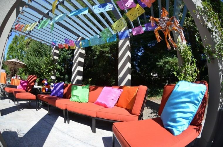 Deco Pergola Party Jardin