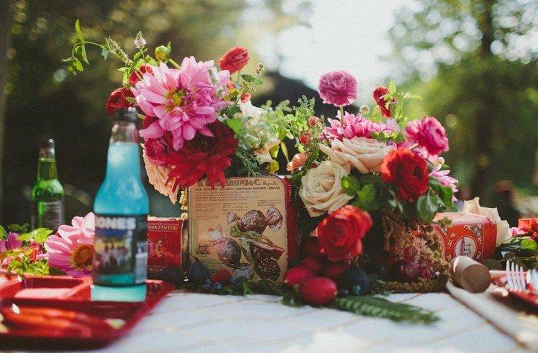 decoracion romantica fiesta jardin