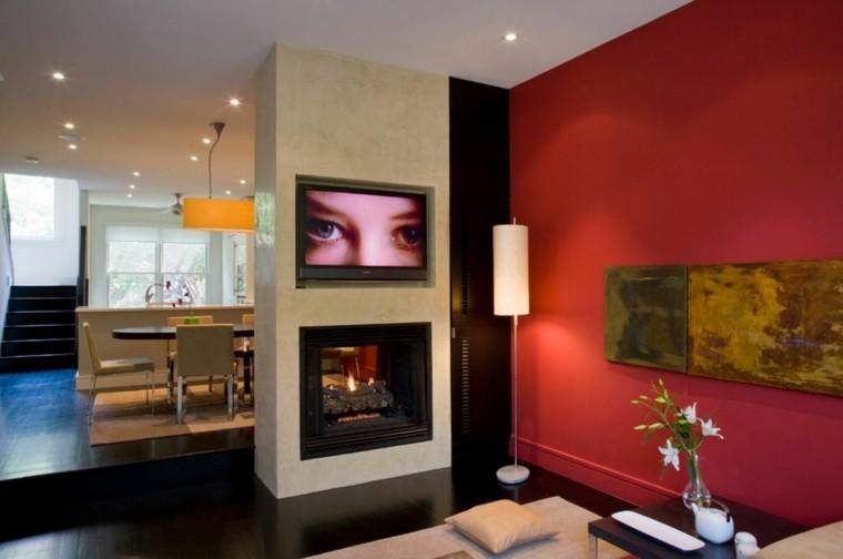 Pinturas para sal n ideas de combinaciones modernas for Pinturas para paredes de salon
