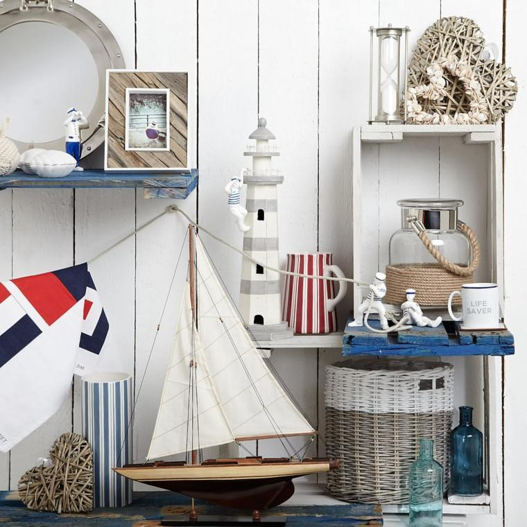 beautiful decoracion barco figuritas marineros originales ideas with ideas decoracion originales